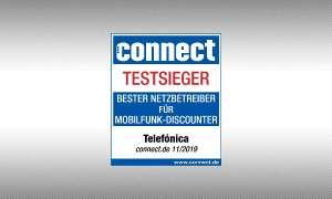 connect Siegel Testsieger Telefonica