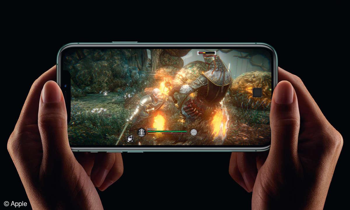 """iPhone 11 Pro (Max) im Test - Beispiel ist """"Elder Scrolls: Blades"""""""