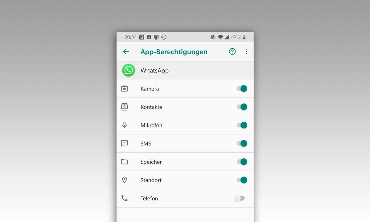 WhatsApp Benachrichtigungen