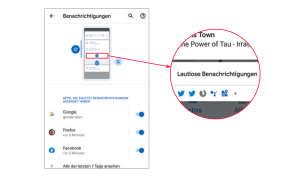 Android Q: 10 Tipps zum neuen Betriebssystem - Lautlose Benachrichtigungen