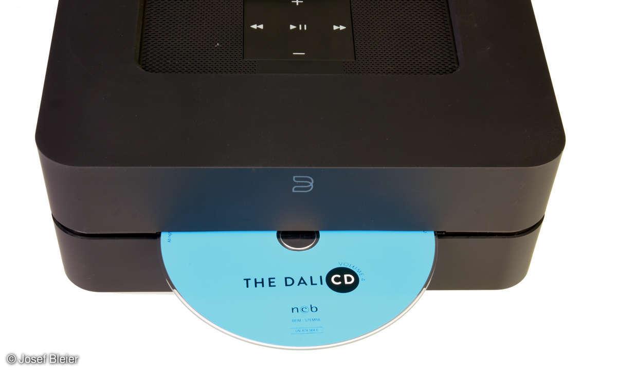 Bluesound Vault 2i & Node 2i im Test - CD-Laufwerk Vault 2i