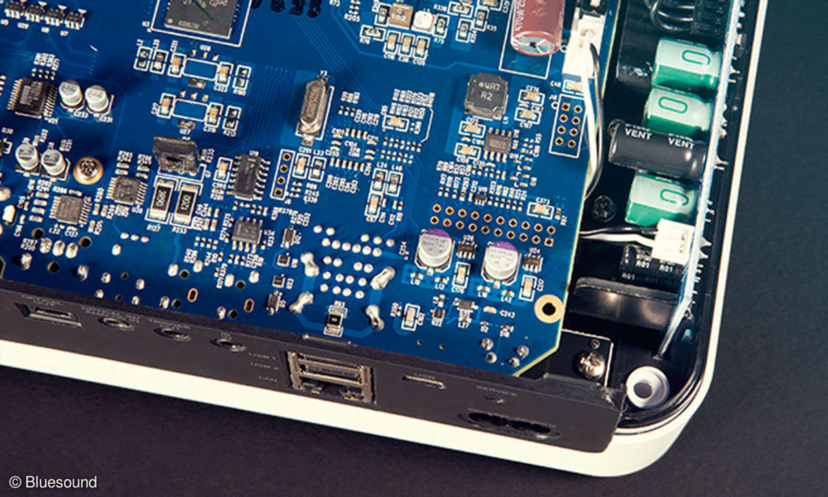 Bluesound Vault 2i & Node 2i im Test - Elektronik