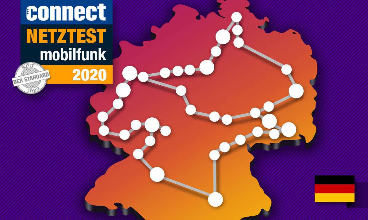 Die Handy-Netze in Deutschland im Vergleich 2020