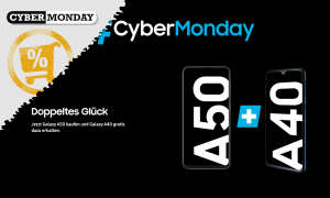 samsung galaxy a50 a40 angebot cyber monday