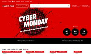 Cyber Monday bei Media Markt