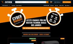Cyber Monday bei Saturn