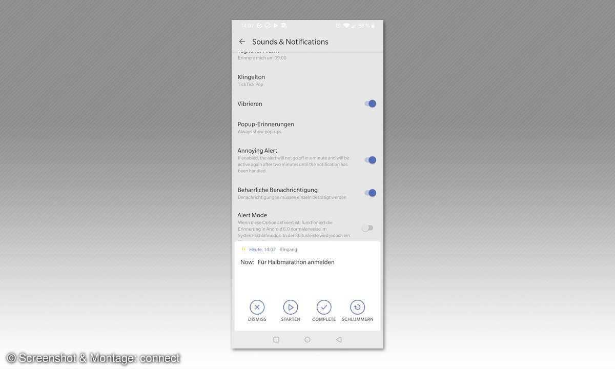 Erinnerungs- & Aufgaben-Apps: TickTock