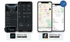 PACE Car App und PACE Drive App
