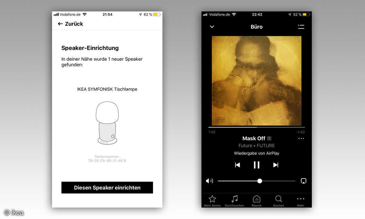 Ikea Symfonisk App Bedienung