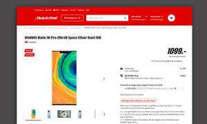 huawei mate 30 pro media markt