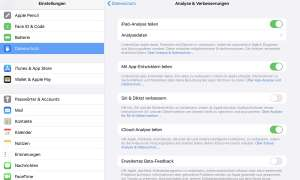 iOS iPadOS Konfiguration