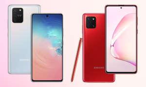 Samsung Galaxy S10 Lite und Note 10 Lite
