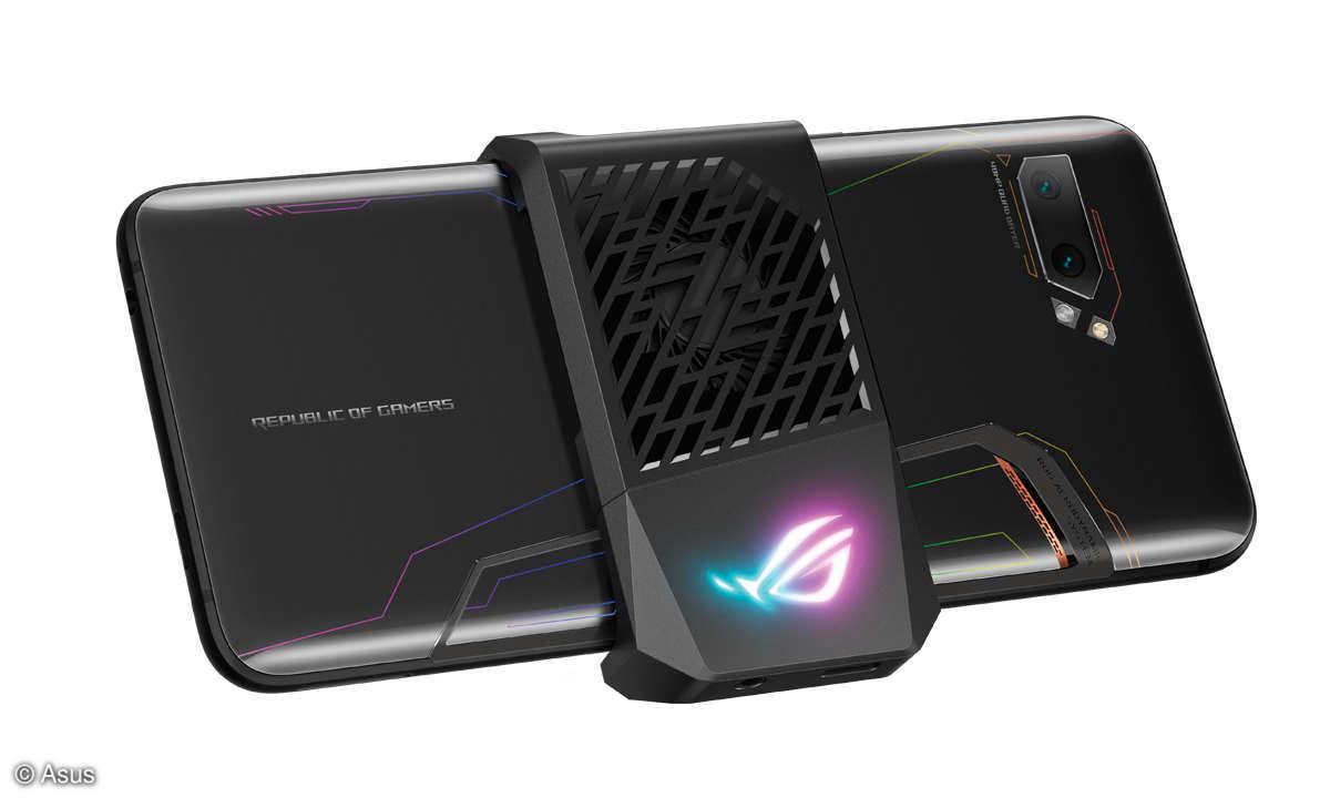 Asus ROG Phone 2 im Test - Lüfter