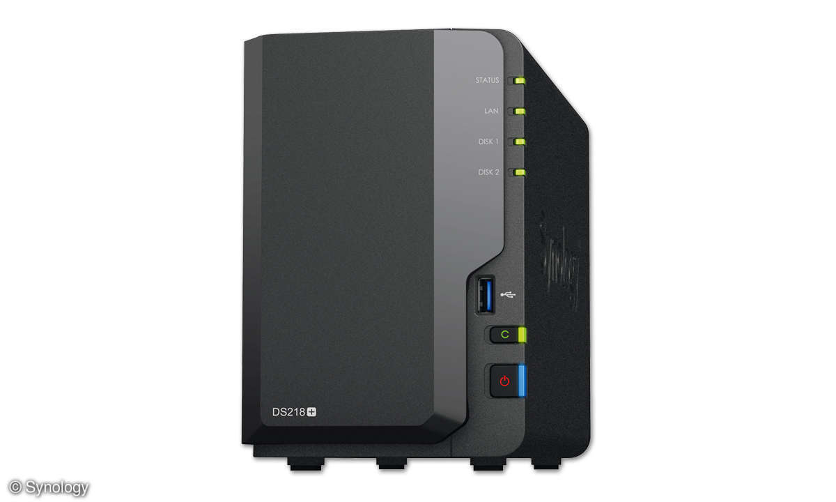 Synology DS218+ im Test