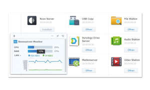 Synology DS218+ im Test - Roon Core Screenshot