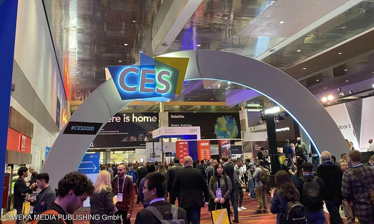 CES 2020 in Las Vegas - Eingangsbereich