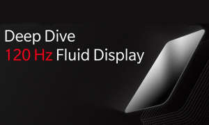 OnePlus 120 Hz Fluid Display
