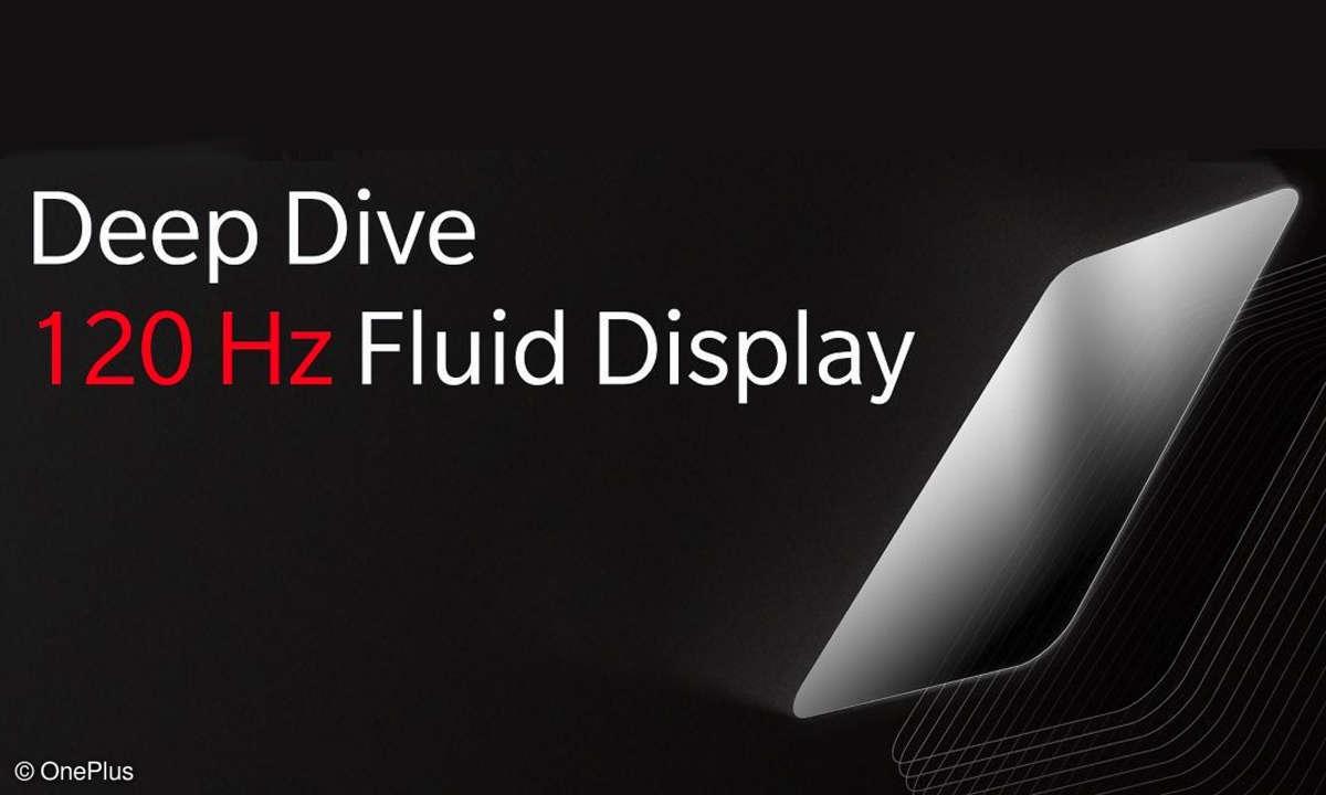 OnePlus 120 Hz Fluid Display