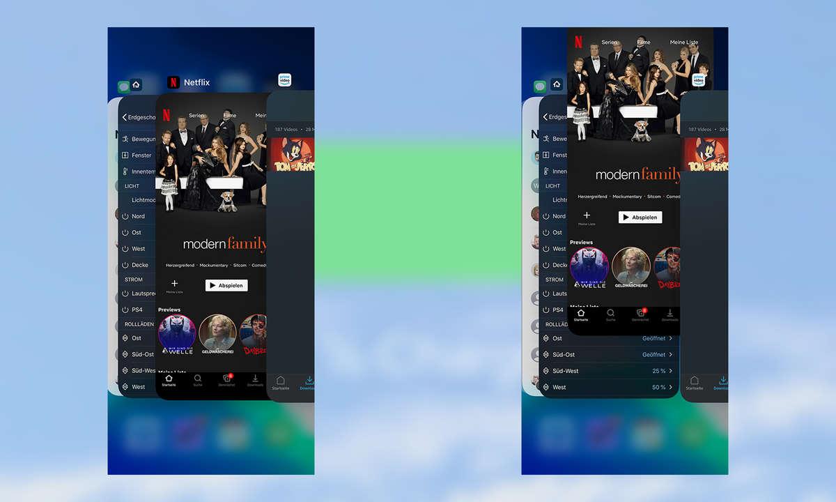iOS Apps beenden