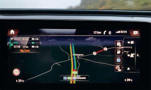 Mercedes EQC 400 4MATIC im Test: Navigation - Routenführung