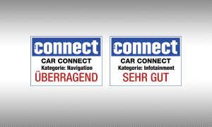 "connect Testsiegel BMW 320D Touring Kategorie: Navigation - ""überragend"" Kategorie: Infotainment - ""sehr gut"""