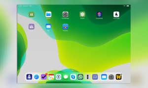 iOS 13 Dock
