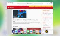 Multitasking iOS 13: Dock einblenden
