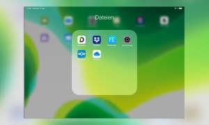 Multitasking iOS 13: Ordner im Dock