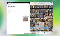 Multitasking iOS 13: Drag and Drop von Fotos