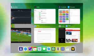Multitasking iOS 13: Mehrere Spaces in Exposé