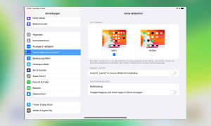 Multitasking iOS 13: Einstellungen