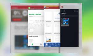Multitasking iOS 13: Exposé in Slide Over