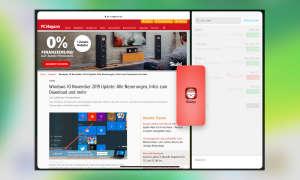 Multitasking iOS 13: Slide Over in Split View öffnen