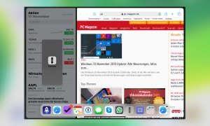 Multitasking iOS 13: App in Split View tauschen