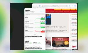 Multitasking iOS 13: Split View Seitentausch