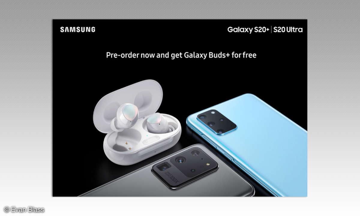 Galaxy S20 Promo-Material von evleaks