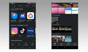Dark Mode in Google-Apps
