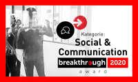 breakthrough award 2020 - Social und Communication