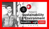 breakthrough award 2020 - Sustainability und Environment