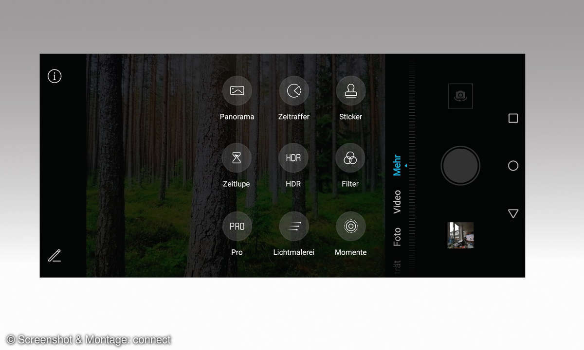 Honor 9X Kamera Screenshot