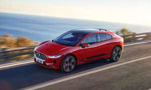 Jaguar I-Pace im Connectivity-Test