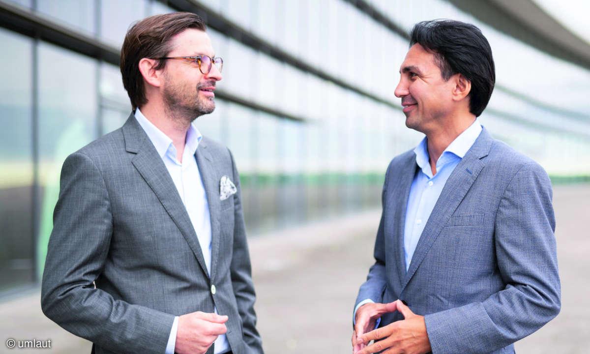 Hakan Ekmen und Marc-Oliver Bender im Gespräch