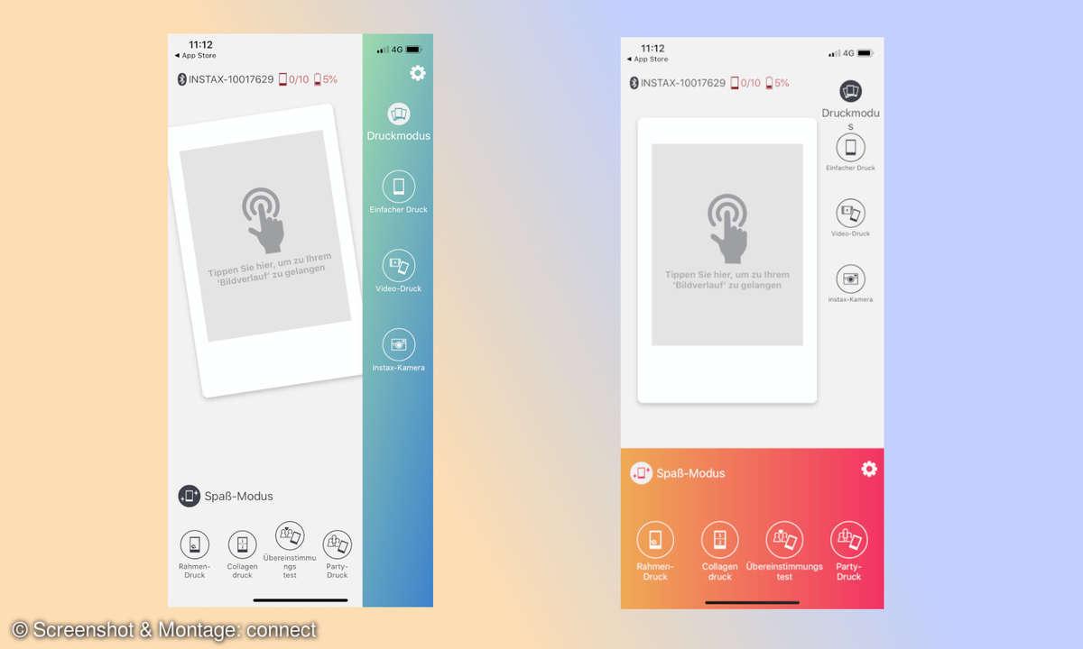 Screenshots App mini Link