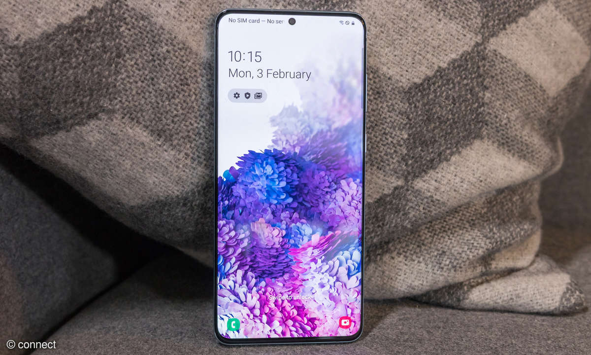 Samsung Galaxy S20+ Display