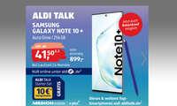 Galaxy Note 10 Plus bei Aldi Süd
