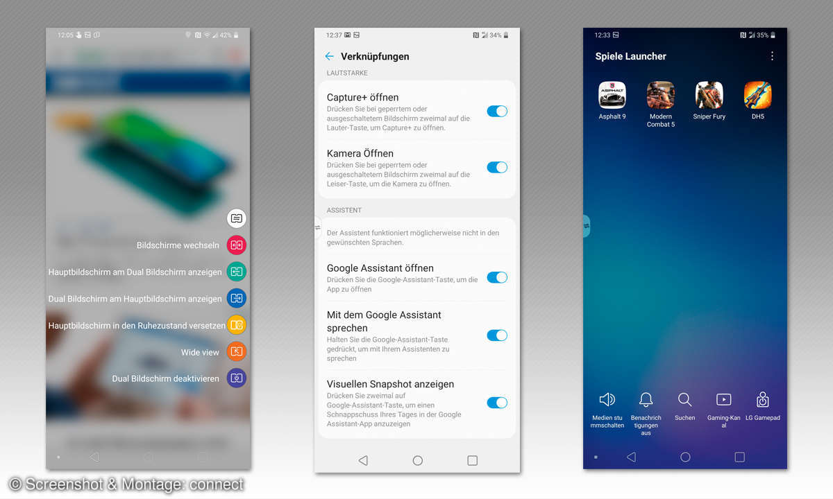 LG G8X ThinQ im Test - Screenshots
