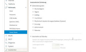 Fritzbox als Smart-Home-Zentrale - so geht's: Screenshot Einstellungen