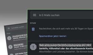 Gmail-App: Spamordner jetzt leeren