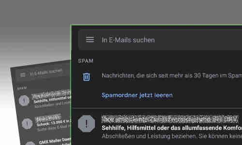 E mail aus spam ordner wiederherstellen gmx