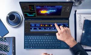 Asus Zenbook Pro Duo (UX581G) im Test - Screenpad Plus